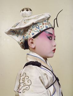 This was Charles Fréger's first trip to China. He returned there twice more while making the series Opera. Pekin Opera, Chinoiserie, Art Costume, Costumes, Charles Freger, Chelsea Clinton, Chinese Opera, Dragon Dance, Image Makers