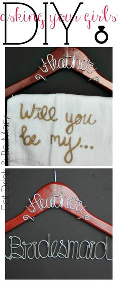 "the PERFECT ""will you be my bridesmaid?"" # DIY 