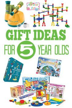 Gifts for 5 Year Olds - Christmas and Birthday Ideas
