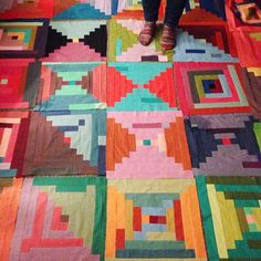 In progress for the Philly show. Carrie Strine #saturdaystitchin #quilt   Flickr ...