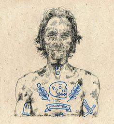 Michael Howard, ilustración hipster