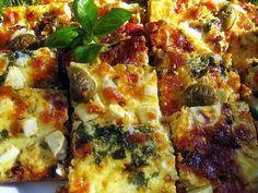 Rippijuhlatarjoilut Sweet And Salty, Vegetable Pizza, Quiche, Feta, Tart, Food And Drink, Breakfast, Recipes, Meditation