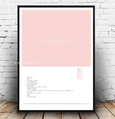 The 1975 album poster, Matty Healy poster, The 1975 album art, the 1975 Matty Healy pink poster, I like it when you sleep for you are so... by Girlvisual on Etsy https://www.etsy.com/listing/506823348/the-1975-album-poster-matty-healy-poster