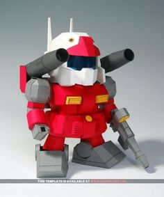 Gundam - Papercraft.eu