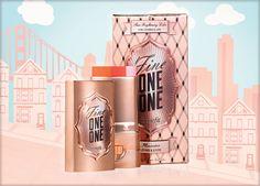 benefitcosmetics - fine-one-one : blush enlumineur en stick pour joues et lèvres 32,00€
