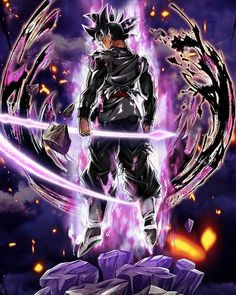 Dragon Ball Image, Dragon Ball Gt, Dragon Ball Z Iphone Wallpaper, Foto Do Goku, Ying Y Yang, Zamasu Black, Awesome Anime, Animes Wallpapers, Black Goku