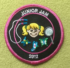Girl Scouts 100th anniversary patch. Junior Jam 2012. Thank you, Staci.