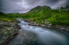 late meltwater by Jørn Allan Pedersen on 500px