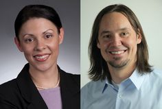 Steffanie Savine and Yoni Kellman, both from Detroit, are now the newest employees at The Marx Group.