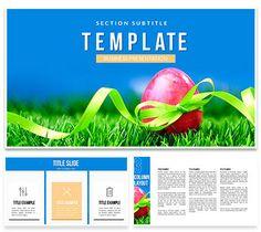 Holidays Easter Eggs Keynote Templates