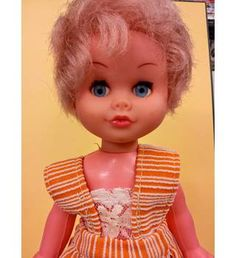 Buy Very Rare Vintage  Franca Doll Made in Italy 1960's / 1970's. franca, Oxfam, franca, Toys and games, Dolls Bears