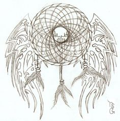 popular drawing designs | Tribal Dream Catcher by ~Ndawggunner on deviantART