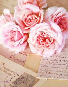 Sweet Pink & Tea Roses