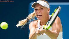 Wozniacki beats Stephens to reach Rogers Cup women's tennis final