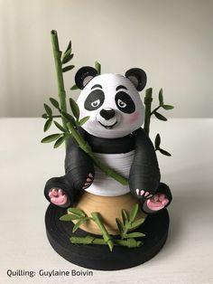 Quilling 3D - Panda - 11-2017