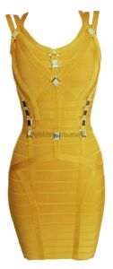 Gold Metal Embellished Bandage Dress...completly in love with it!