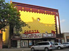 Dakota Theatre, Yankton, SD by Robby Virus, via Flickr