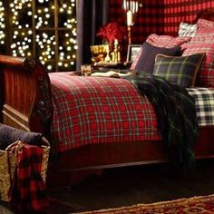 "I want THIS to be my Christmas Bed! It reminds me of the North Pole bed in ""The Santa Clause."" #Sleepys"