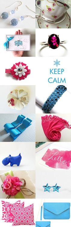 blue n pink pretties by Dawn on Etsy--Pinned with TreasuryPin.com