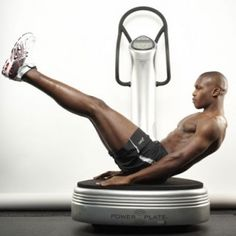 Build a six-pack with the Power Plate - Men's Health