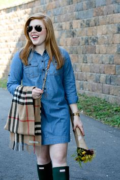 Chambray + Hunters | Sprinkle of Glam