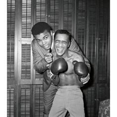Muhammad Ali & Sammy Davis Jr.