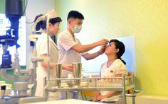 현대적인 의료봉사기지 - 류경안과종합병원