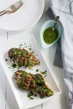 This Grilled Chicken Chimichurri is definitely the easiest weeknight meal you can make. It's fresh, flavourful, gluten-free, paleo and low-carb too.