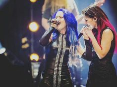 Alissa White-Gluz and Charlotte Wessels