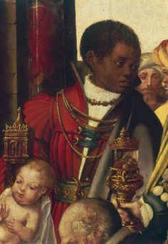 Gregorio Lopes Adoration of the Magi Spain (c.... - People of Color in European Art History