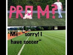 Problems only a soccer girl would have...we are awesome like that, so just get used to it