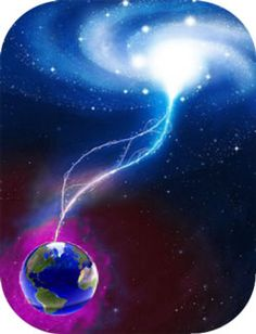 Fundamental energy in the atmosphere transforming into life force or vital force.