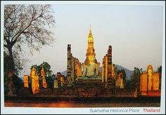 "Postcard from Sukhothai , Thailand   ""The Historical Park"""