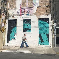 work by Muretz, Sao Paulo