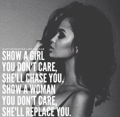 Real women know their worth and don't compete with girls.