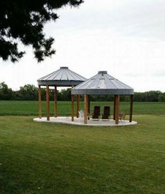 Grain Bin Gazebo Gazebo In 2019 Pergola With Roof