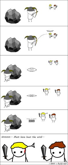 Skyrim logic. I'm guilty of doing this just for fun.