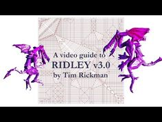 Ridley 3.0 Tutorial by Tim Rickman Origami - YouTube