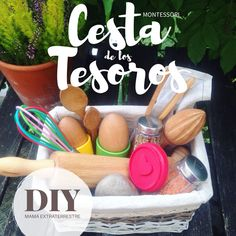 Reggio Emilia, Treasure Basket, Kids Education, Wonderful Things, Preschool Activities, Kindergarten, Children, Diy, Ideas