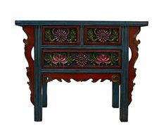 Chinese Flower Carving Blue Red Green Side Table Cabinet Console Acs747 Table & Dining Set http://www.amazon.com/dp/B005NWVQNK/ref=cm_sw_r_pi_dp_zmfhwb1XQMBR3