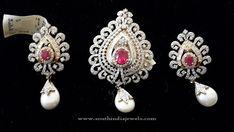 Diamond Pendant Sets for Gold Chains, Diamond Pendants for Gold Chains, Diamond Pendant and Earrings Set.