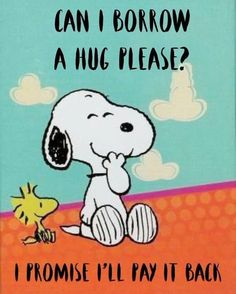 Images Snoopy, Snoopy Pictures, Snoopy Hug, Snoopy And Woodstock, Happy Snoopy, Charlie Brown Quotes, Charlie Brown And Snoopy, Peanuts Quotes, Snoopy Quotes