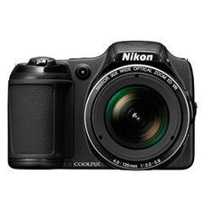Nikon Black COOLPIX L820 Compact System Digital Camera with 16 Megapixels, 30x Optical Zoom and 4-120mm Lens Included