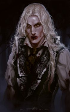 Lestat by jodeee de Lioncourt Vampire Chronicles prince king dead undead ghoul fighter pirate monster armor clothes clothing fashion player character npc | Create your own roleplaying game material w/ RPG Bard: www.rpgbard.com | Writing inspiration for Dungeons and Dragons DND D&D Pathfinder PFRPG Warhammer 40k Star Wars Shadowrun Call of Cthulhu Lord of the Rings LoTR + d20 fantasy science fiction scifi horror design | Not Trusty Sword art: click artwork for source