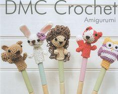 Two Finger Amigurumi Puppets Pattern crochet pattern by PureCraft