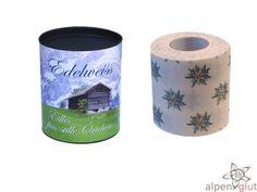 Edles für's stille Örtchen! Edel, Edler, Edelweiss - Toilettenpapier das bestimmt exklusivste Toilettenpapier der Alpen für Dich und Deine
