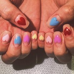 Expand style to your nails with nail art designs. Donned by fashionable celebrities, these kinds of nail designs can add instantaneous allure to your outfit. Nail Design Stiletto, Nail Design Glitter, Glitter Nails, Stiletto Nails, Funky Nails, Cute Nails, Pretty Nails, Edgy Nails, Colorful Nails