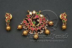 Tiraa by Tibarumal Jewels Kids Gold Jewellery, Gold Jewellery Design, India Jewelry, Temple Jewellery, Gold Jewelry, Gold Earrings Designs, Necklace Designs, Jewelry Model, Simple Jewelry