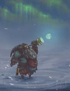 League of Legends fan art - bard by Turvanrullaaja