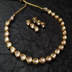 Dubai Gold Jewelry, Fancy Jewellery, Ethnic Jewelry, Indian Jewelry, Fashion Necklace, Fashion Jewelry, Bridal Mehndi Designs, Dress Girl, Embroidery Dress